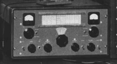 A.M. homebrew transmitter built by W6NZ in 1953