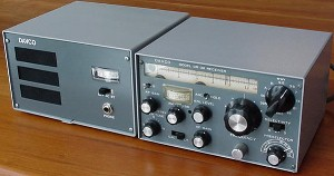 Davco DR-30 receiver and speaker/power supply