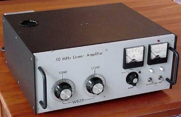 W8ZR Six-Meter Amplifier