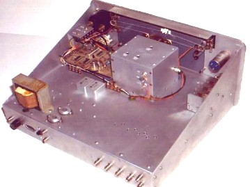 Top View - W8ZR Communications Receiver