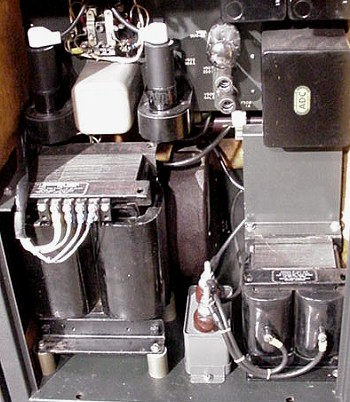 Interior of power supply compartment