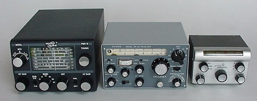 PMR-8, DR-30, and ATC-1 mobile receivers