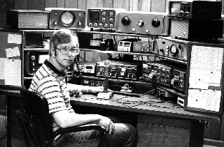 W8ZR's Contest Station in 1977