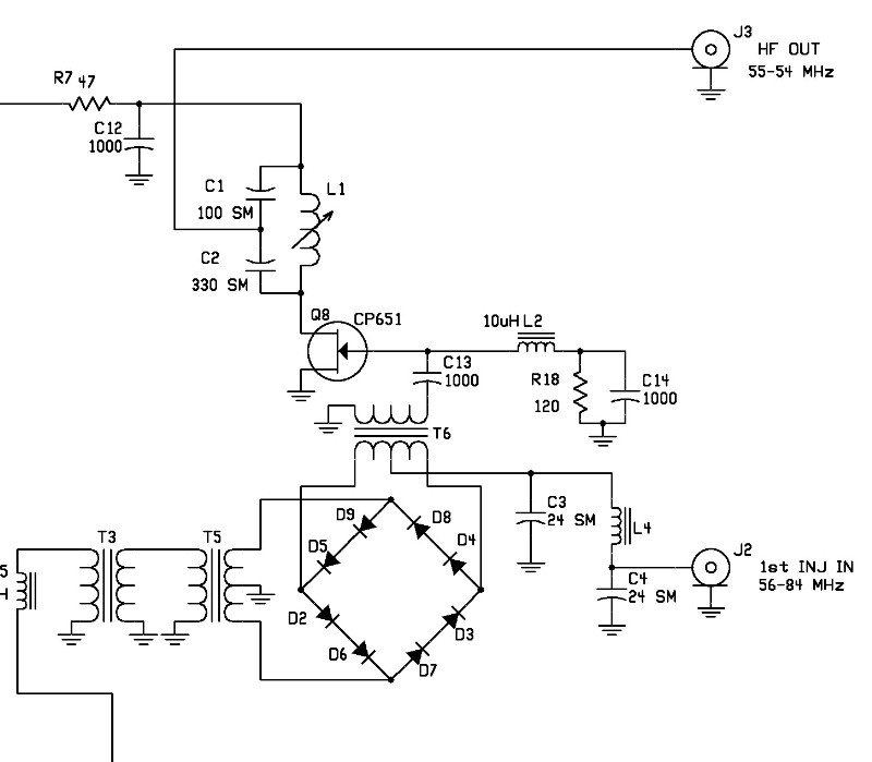 national hro 600 receiver CB Receiver Schematic in contrast to the synthesizer design the rf circuits in the hro 600 are straightforward and surprisingly contemporary for ex le the 1st mixer